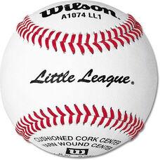 Wilson A1074BSST Little League Baseballs - 1 Dozen