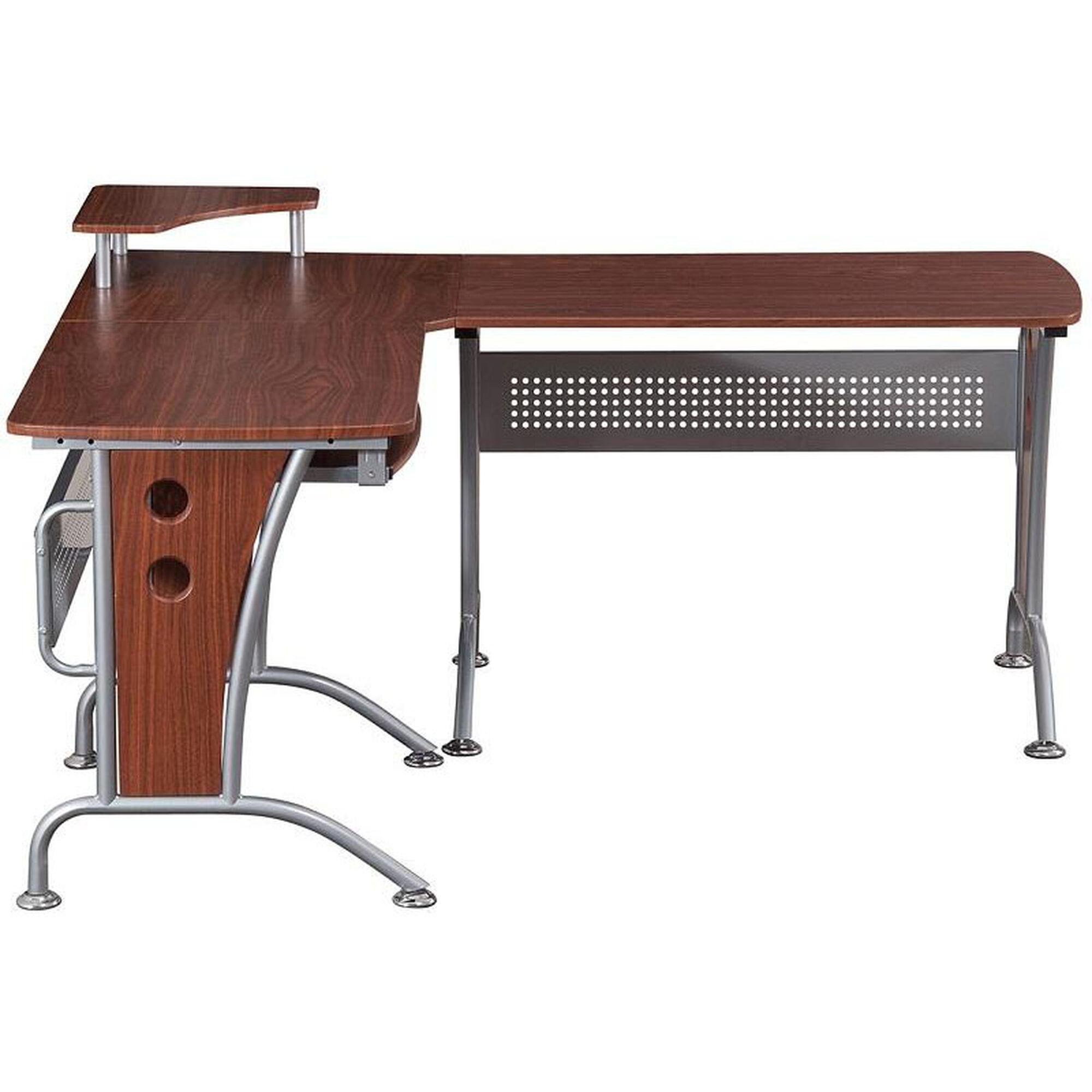 L Shape Computer Desk Rta 3806 M615 Bizchair Com