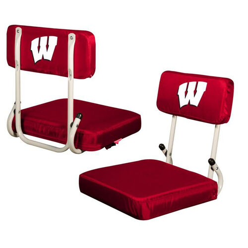 Our University of Wisconsin Team Logo Hard Back Stadium Seat is on sale now.