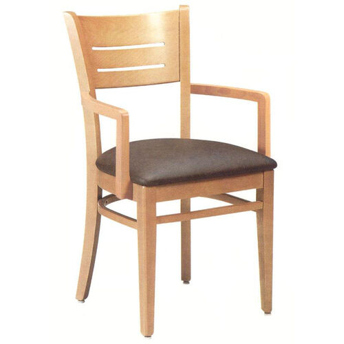 4544 Arm Chair w/ Upholstered Seat - Grade 1