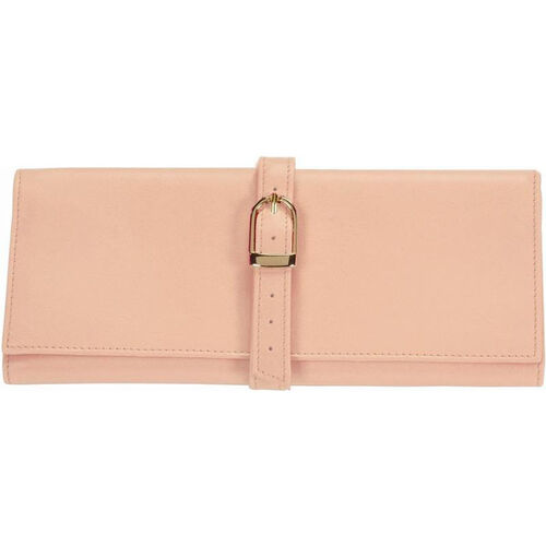 Our Jewelry Roll - Top Grain Nappa Leather - Carnation Pink is on sale now.