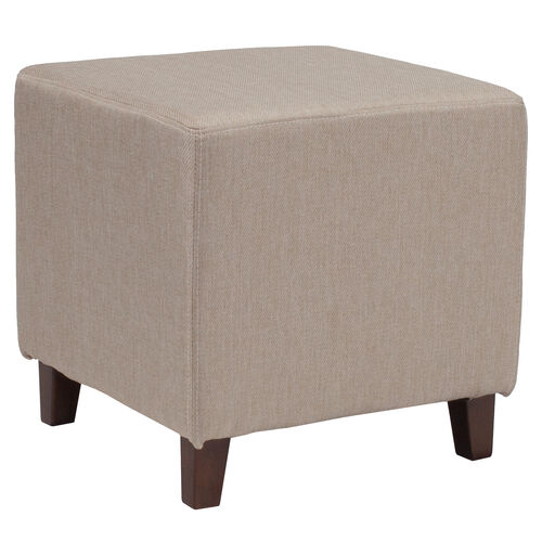 Our Ascalon Upholstered Ottoman Pouf in Beige Fabric is on sale now.