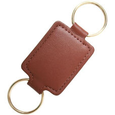 Valet Key Fob - Top Grain Nappa Leather - Tan