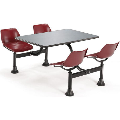 Our Outdoor Table with Stainless Steel Top and Four Chairs is on sale now.