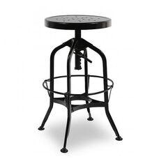 Toledo Adjustable Black Barstool 24.4