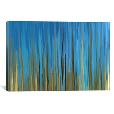Quiet Oasis by 5by5collective Gallery Wrapped Canvas Artwork