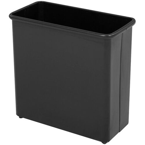Our 27.50 Qt Puncture Resistant Rectangular Wastebasket - Set of Three - Black is on sale now.