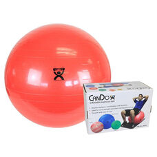 CanDo® Inflatable Red Exercise Ball - 30