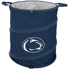 Penn State University Team Logo Collapsible 3-in-1 Cooler Hamper Wastebasket