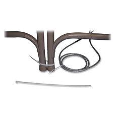 Tatco Nylon Cable Tie - Cable Tie - Black - 1000 Pack