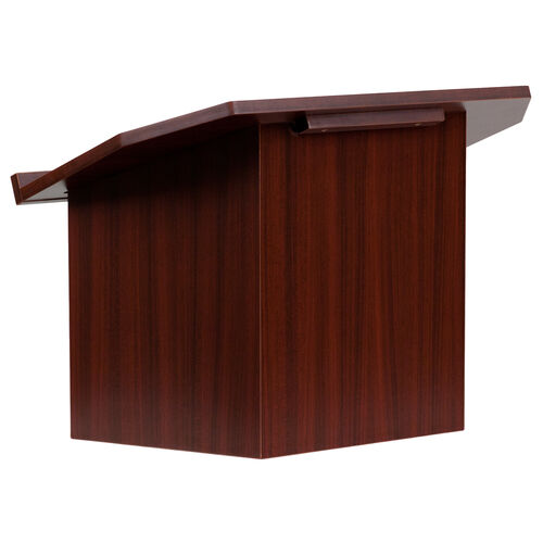 Our Foldable Tabletop Lectern in Mahogany is on sale now.
