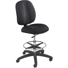 Apprentice II Ergonomically Supportive Extended Height Office Chair - Black