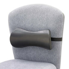 Safco® Lumbar Support Memory Foam Backrest - 14-1/2w x 3-3/4d x 6-3/4h - Black