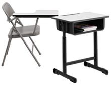 classroom student desks