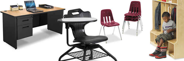 school furniture, school desks, school chairs