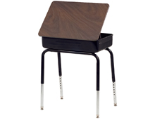 classroom student desk with lift lid