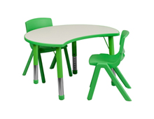 activity table with chairs