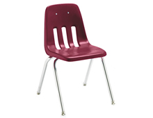 classroom student chair with legs