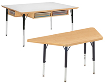 group learning desk and multi-student desk