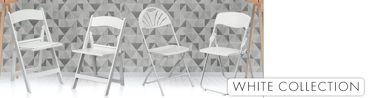 White Folding Chairs