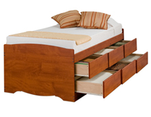 captain bed