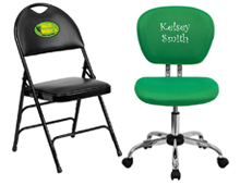 personalized office chair