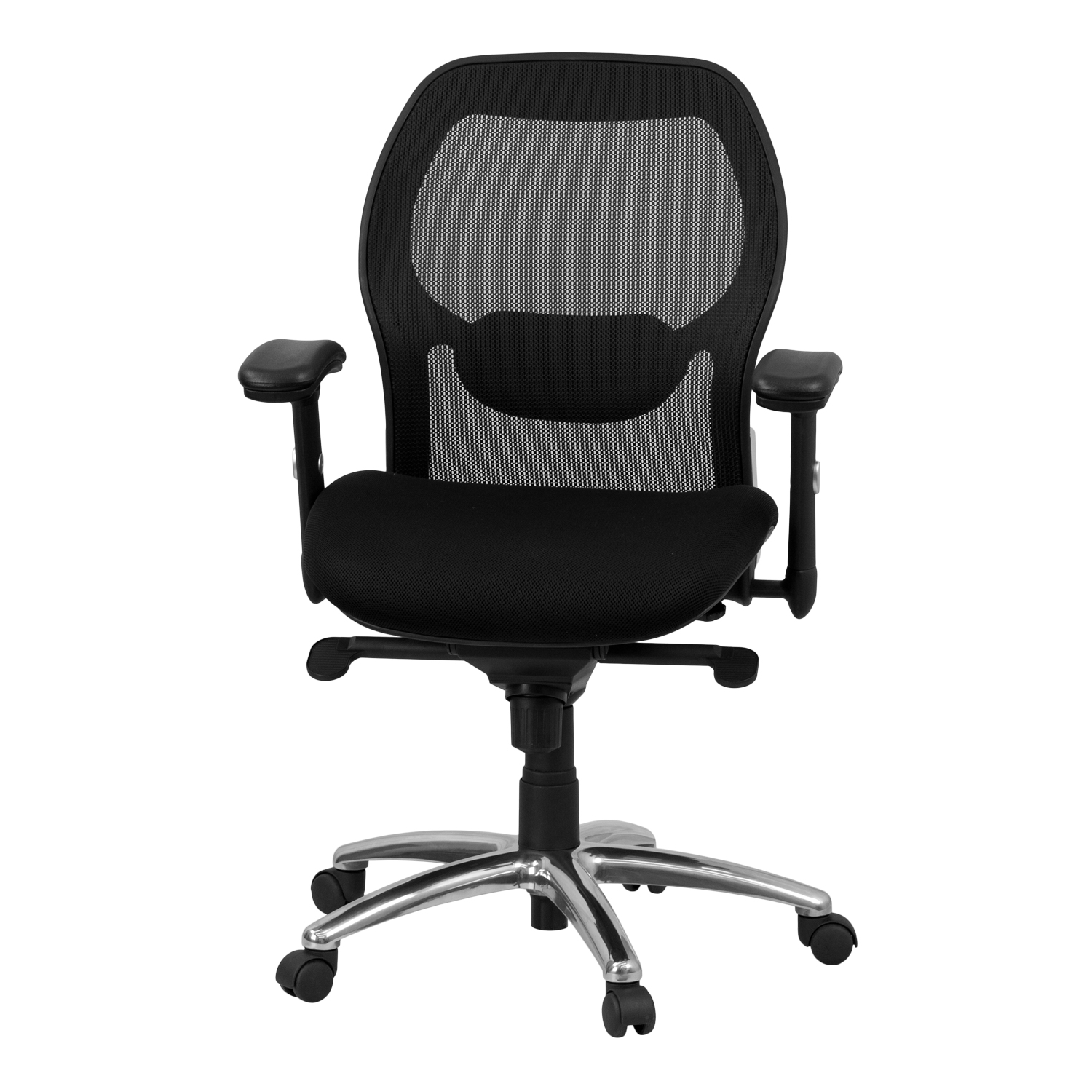 Mid Back Black Super Mesh Executive Swivel Office Chair